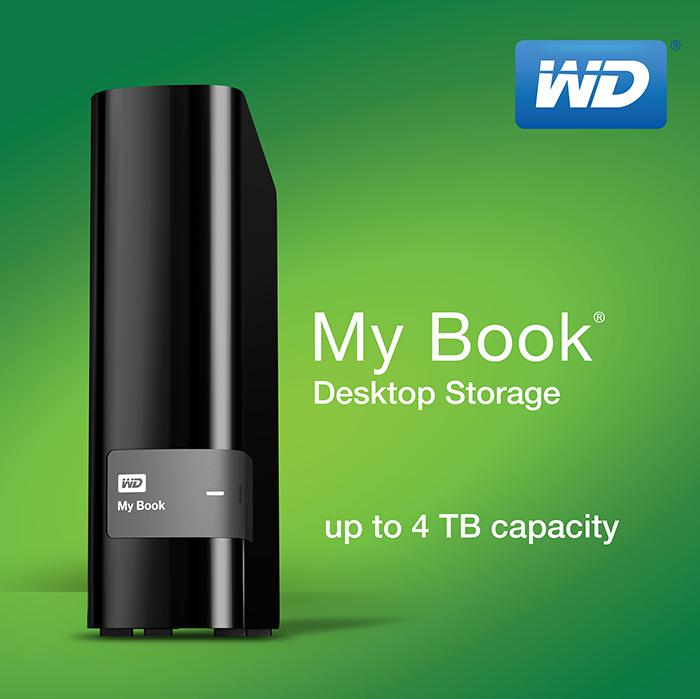 ổ cứng gắn ngoài 3.5 inch WD My Book