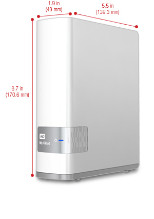 ổ cứng wd my cloud 2 TB