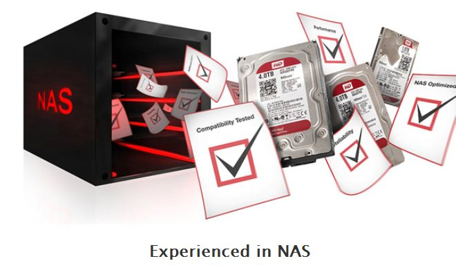 WD Red cho NAS