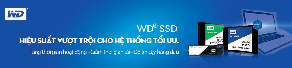 Ổ cứng SSD WD hiệu suất vượt trội