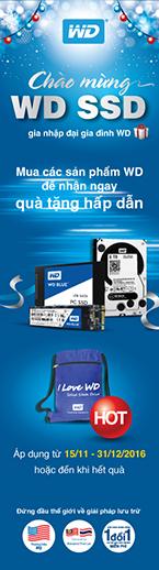 Khuyến mại SSD WD