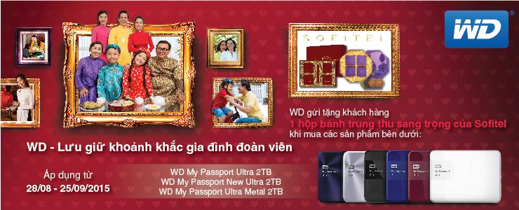 WD My Passport Ultra 2TB tặng bánh trung thu 740x300