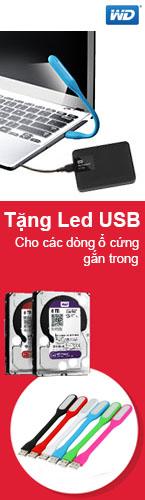 Ổ cứng gắn trong WD tặng Led USB
