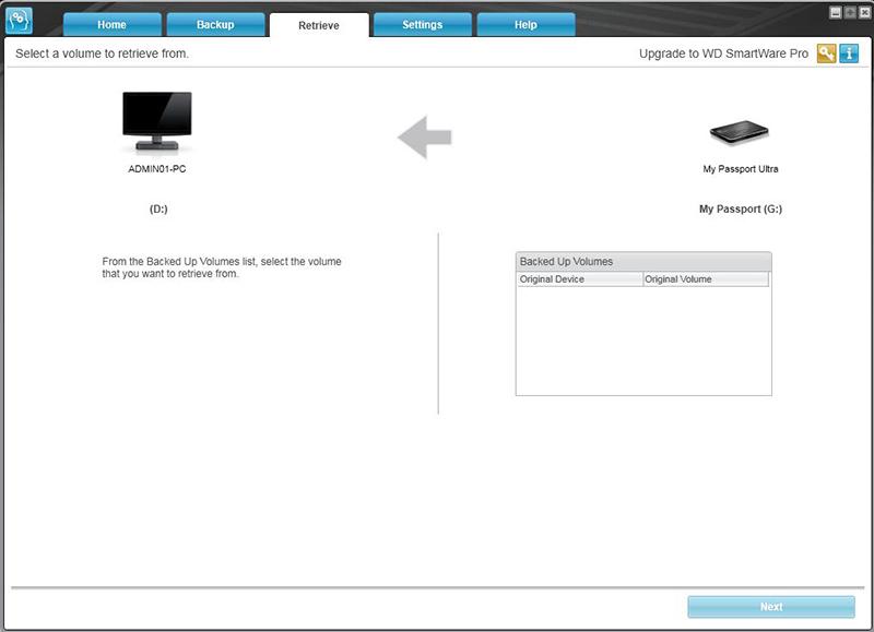 cài đặt wd smartware pro
