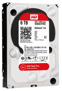 Ổ cứng Nas Western Red Pro 6tb