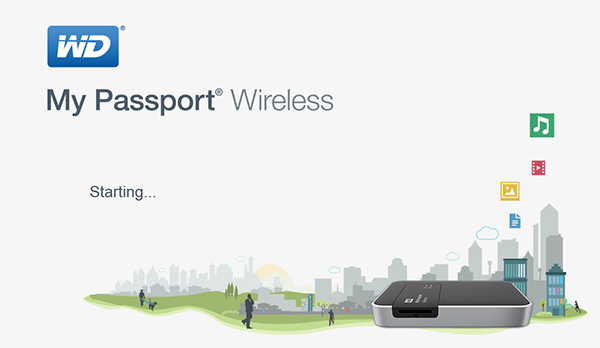 truy cập dashboard my passport wireless