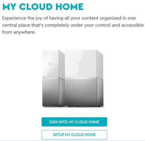 Hướng dẫn cài đặt WD My Cloud Home dòng Personal Cloud