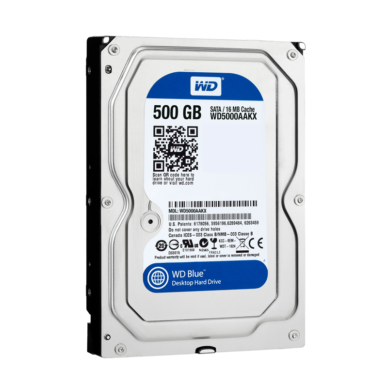 HDD WD Blue 500GB WD5000AAKX