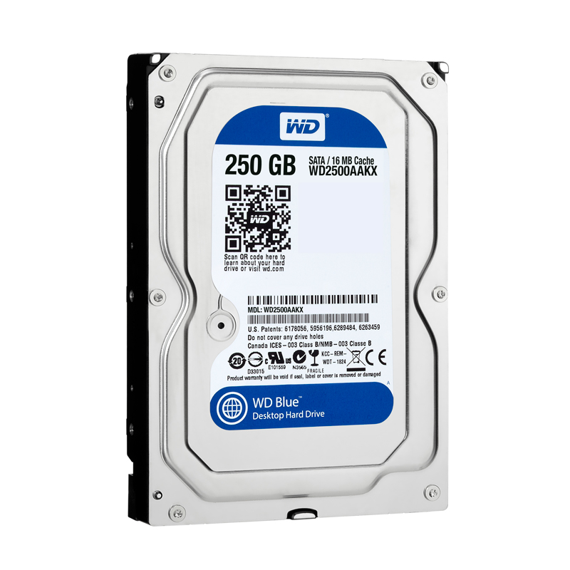HDD WD 250GB Blue WD2500AAKX