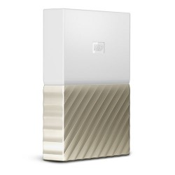 Ổ cứng WD My Passport Ultra 3TB WDBFKT0030BGD - White Gold