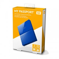 Ổ cứng WD My Passport 3TB WDBYFT0030BYL Yellow