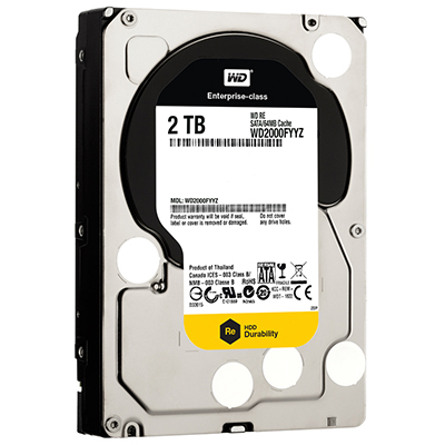 Ổ cứng Datacenter WD Re 2TB Sata3 WD2004FBYZ