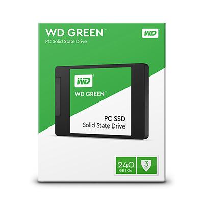 Kết quả hình ảnh cho Ổ CỨNG SSD WD Green 240g WDS240G1G0A