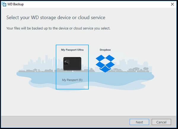Cài đặt sử dụng WD Backup, Security và Utilities trên ổ cứng