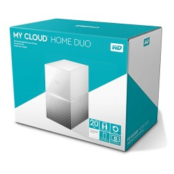 Ổ cứng WD My Cloud Home Duo 20TB