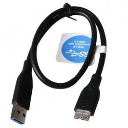 Cable USB 3.0 45 cm - Cable WD