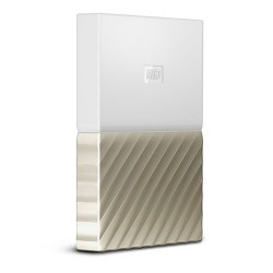 Ổ cứng WD My Passport Ultra 1TB WDBTLG0010BGD - White Gold
