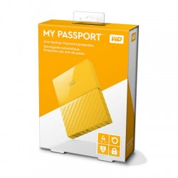 Ổ cứng WD My Passport 4TB WDBYFT0040BYL Yellow