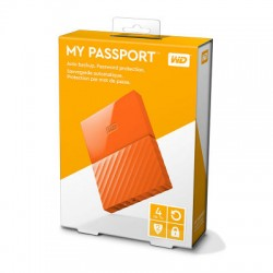 Ổ cứng WD My Passport 4TB WDBYFT0040BOR Orange