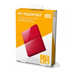 Ổ cứng WD My Passport 1TB WDBYNN0010BRD Red