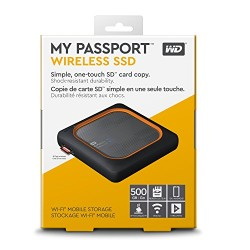 Ổ cứng WD My Passport Wireless SSD 500GB