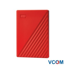 Ổ cứng WD My Passport 4TB red new model